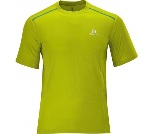 Tricou Salomon Trail Tee M Lime 2013