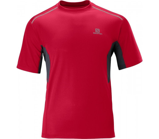 Tricou Salomon Trail Tee M Red 2013