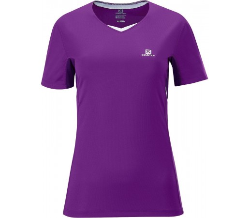 Tricou Salomon Trail Tee W Purple 2013