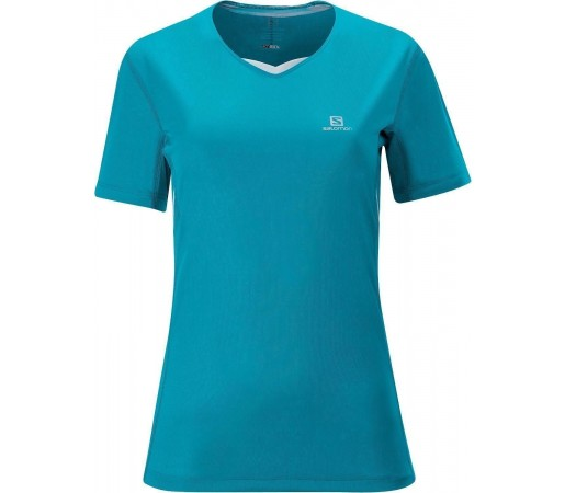 Tricou Salomon Trail Tee W Teal 2013