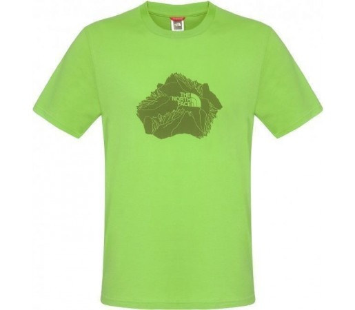 Tricou The North Face Heli View Green