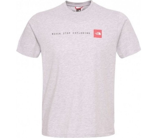Tricou The North Face Never Stop Exploring Grey