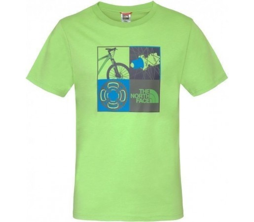 Tricou The North Face Spare Parts Green