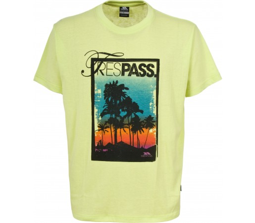 Tricou Trespass Flagfin Lemongrass