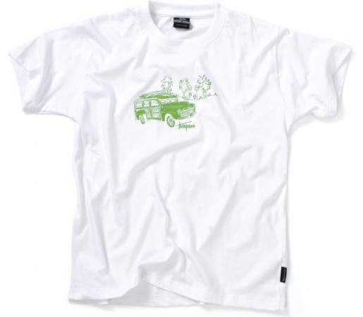 Tricou Trespass Newark White