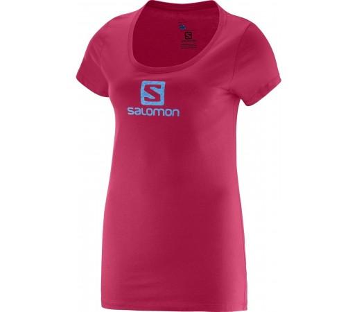 Tricou Salomon No Strings SS Logo Tee W Roz