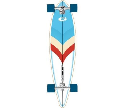 Longboard OSPREY 41'' Arrow Pintail Negru/ Albastru