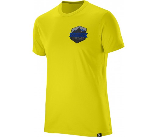 Tricou Salomon Ultimate SS Cotton Tee M Galben