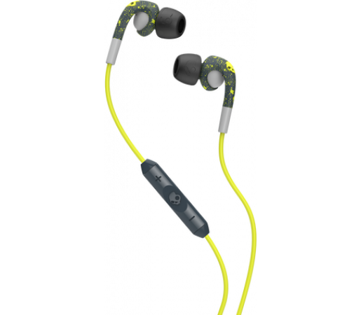 Casti audio Skullcandy Fix In-Ear Dark Grey/Light Grey/Hot Lime