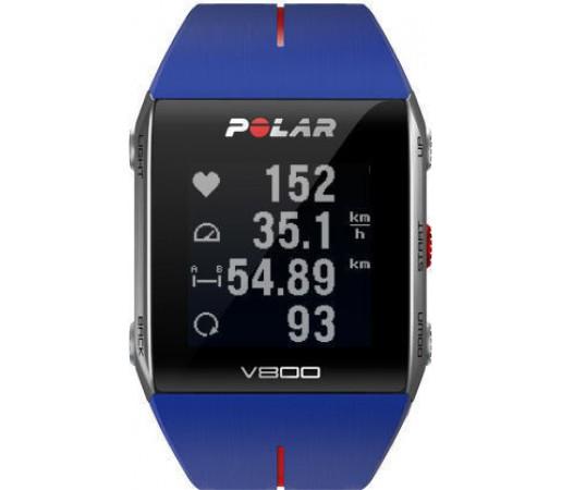 Ceas Polar V800 GPS Albastru