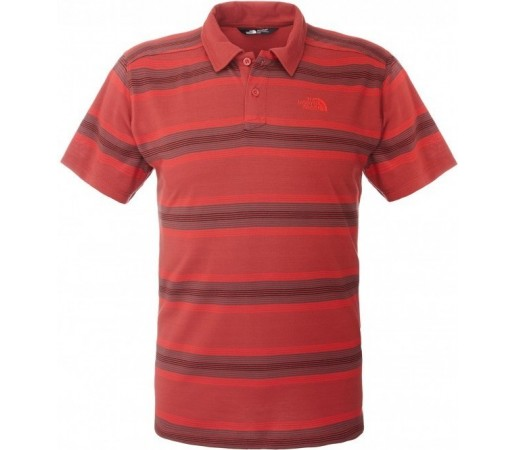Tricou The North Face M Hike Polo Rosu
