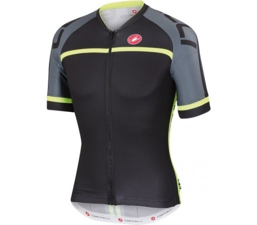 Tricou ciclism Castelli Volo Negru/ Verde