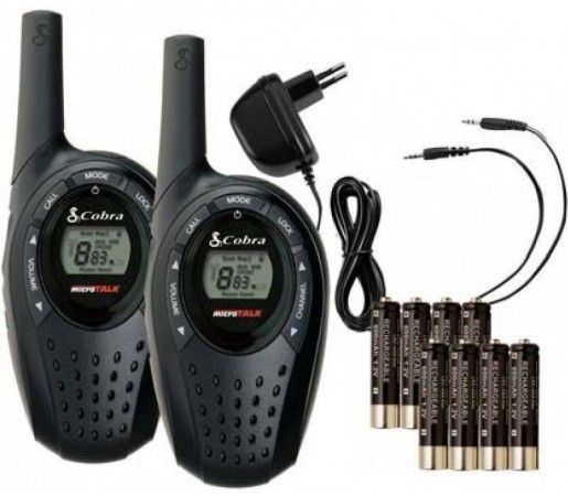 Walkie talkie Cobra MT600C Black
