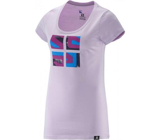Tricou Salomon Warhol SS Cotton Tee W Violet