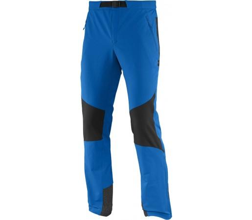 Pantaloni Salomon Wayfarer Mountain Pant M Albastru/Negru