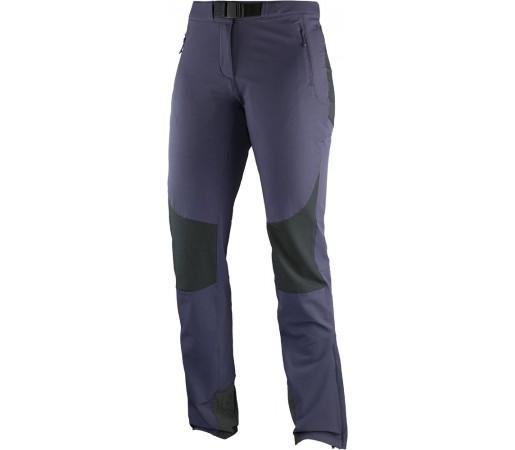 Pantaloni Salomon Wayfarer Mountain Pant W Violet/Negru