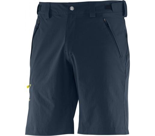 Pantaloni scurti Salomon Wayfarer Short M Albastru/Galben