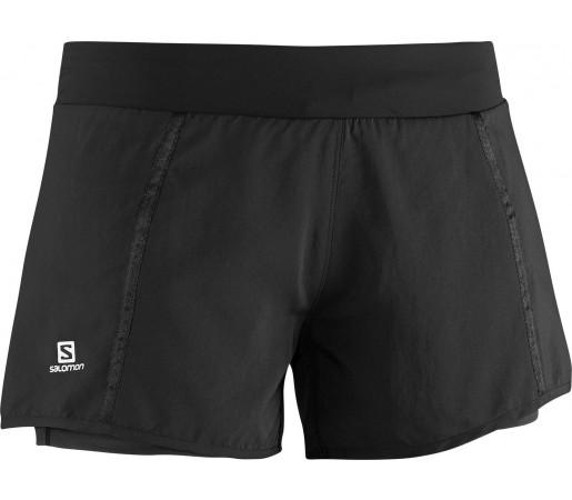 Pantaloni scurti Salomon Park 2 In1 W Negru