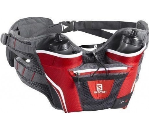 Curea alergare Salomon XT Twin Belt Red 2013