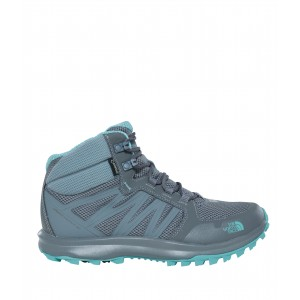 Incaltaminte hiking The North Face Litewave Fastpack Mid GTX W Gri/Turquoise
