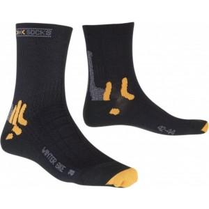 Sosete X-Socks Winter Biking Black/Orange