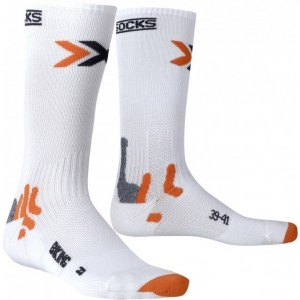 Sosete X-Socks Bike Mid Energizer White