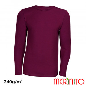 Bluza First Layer Barbati Merinito 240g/mp Mov