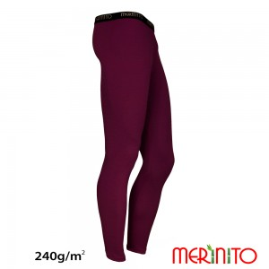 Pantaloni First Layer Barbati Merinito Lungi 240g/mp Mov