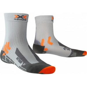 Sosete X-Socks Trekking Outdoor Man Silver/Orange/Black