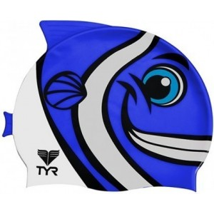 Casca Inot Tyr Character Happy Fish Blue