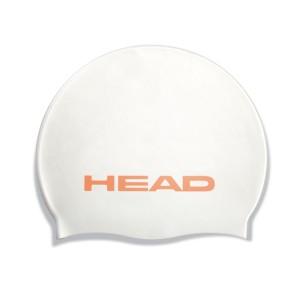 Casca inot Head Silicon Alba