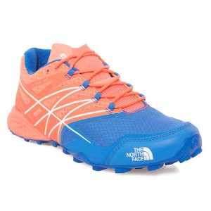Incaltaminte Alergare The North Face W Ultra MT Rosie/Albastra