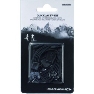 Sireturi Salomon Quicklace Kit Black