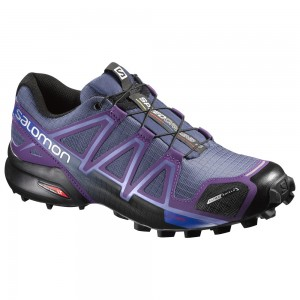 Incaltaminte alergare Salomon Speedcross 4 CS W Mov/Negru
