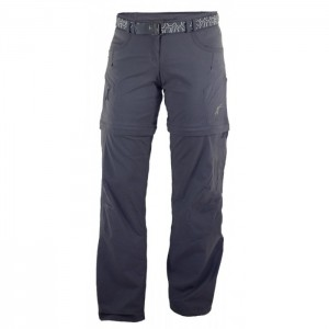 Pantaloni Warmpeace W Rivera Zip-Off Negri
