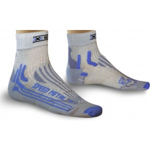 Sosete X-Socks Run Speed Metal Lady Silver/Light Grey