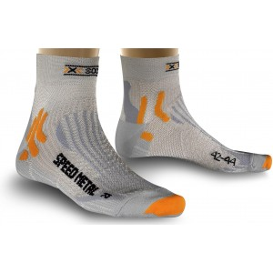 Sosete X-Socks Run Speed Metal Silver/Light Grey