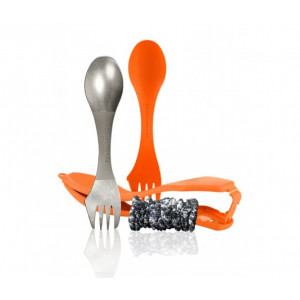 Set tacam Light My Fire Ultimate Spork Kit Orange