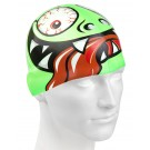 Casca inot Mad Wave Green Face Junior