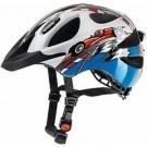 Casca bicicleta Uvex Hero White- Blue