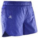Pantaloni scurti Salomon Trail Runner W Albastri