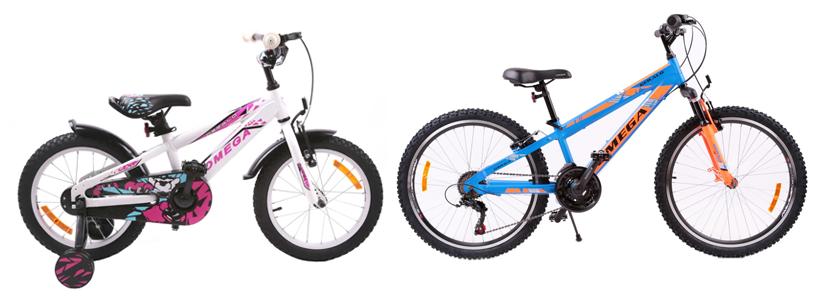 Bicicleta copii Omega Gerald