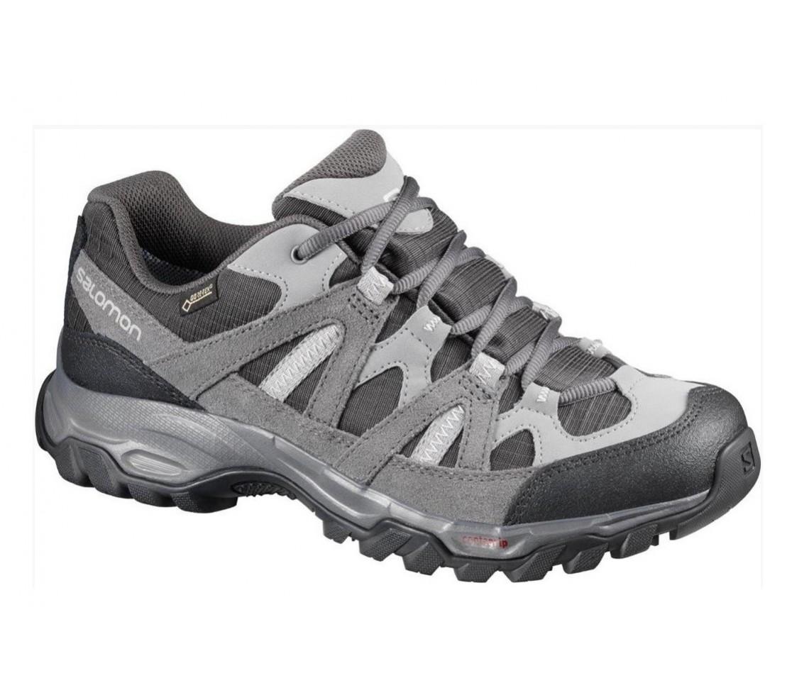 rivenditore online comprando ora cerca l'autorizzazione Incaltaminte Hiking Salomon Escambia 2 GTX W Gri