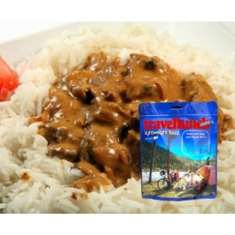 Aliment Travellunch Stroganoff de vita cu orez