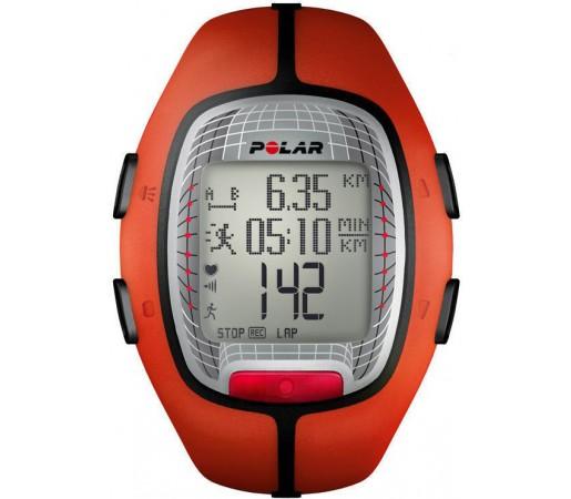 Ceas Polar RS300X cu centura HRM Orange