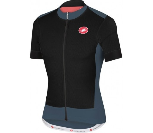 Tricou ciclism Castelli Rivoluzione Jersey Negru