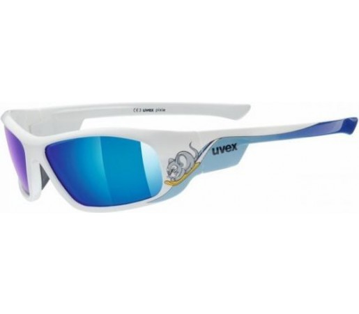 Ochelari de soare Uvex Pixie Junior Alb/Albastru