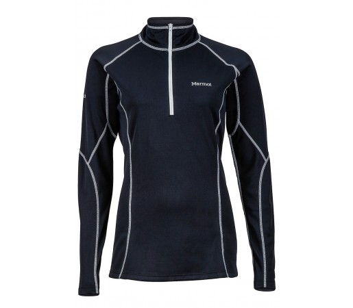 Bluza Marmot W ThermalClime Pro 1/2 Zip Neagra