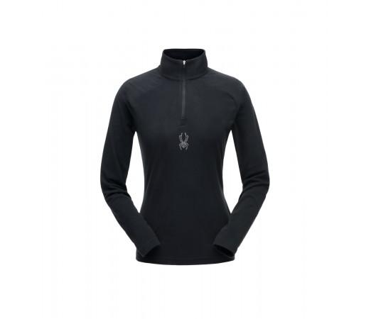 Bluza Mid-Layer Femei Spyder Shimmer Negru