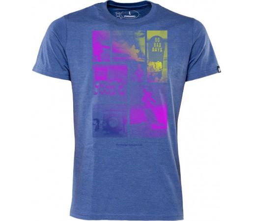 Tricou Fundango Basic T Logo 5 Albastru
